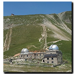 Aprilia Caponord ETV1000 Rally-Raid - Gran Sasso observatory