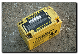 Aprilia Caponord ETV1000 Rally-Raid & Motorbatt battery