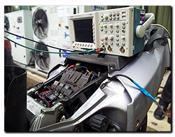 Aprilia Caponord ETV1000 Rally-Raid ECU Oscilloscope TuneECU