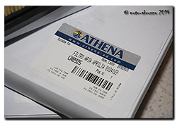 Athena box label for the Capo
