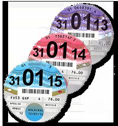 UK tax disks