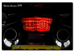 Aprilia Caponord ETV1000 Rally-Raid - Both bulb types with lens in place
