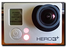 GoPro Hero 3+ WiFi failure