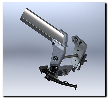 Aprilia Caponord ETV1000 Rally-Raid frame / chassis in Solidworks 3D