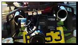 Aprilia Caponord ETV1000 Rally-Raid BMW Dynamic Brake Light System GoPro Tarot 2D gimbal