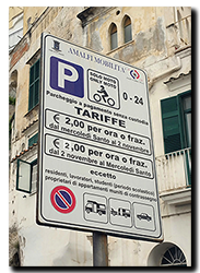 Aprilia Caponord ETV1000 Rally-Raid Amalfi motorcycle parking fees