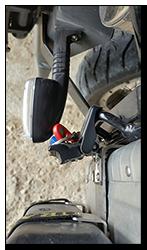 Aprilia Caponord ETV1000 Rally-Raid - Mana indicators & Hepco Becker pannier latch