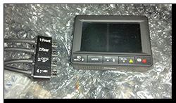 Aprilia Caponord ETV1000 Rally-Raid INNOVV K1 camera cable support