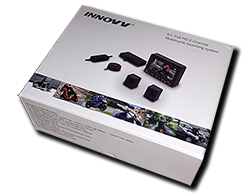 Aprilia Caponord ETV1000 Rally-Raid INNOVV K1 dual HD camera system