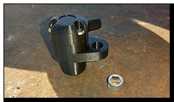 Aprilia Caponord ETV1000 Rally-Raid 3D printed speedometer sensor case AP8124985