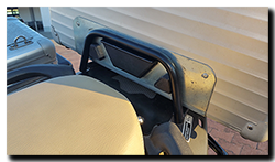 Aprilia Caponord ETV1000 Rally-Raid Hepco Becker top box 3D printed spacers