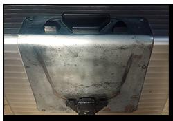 Aprilia Caponord ETV1000 Rally-Raid Hepco Becker top box support plate