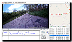 Aprilia Caponord ETV1000 Rally-Raid Datakam Windows software from INNOVV K1 SD card