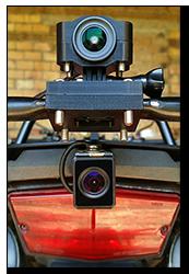 Aprilia Caponord ETV1000 Rally-Raid INNOVV C5 camera system HD Wi-Fi