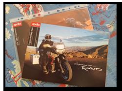 Aprilia Caponord ETV1000 Rally-Raid dealer brochure