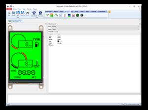 Aprilia Caponord ETV1000 Rally-Raid Arduino 4D Systems SDK-ULED-35D-AR display
