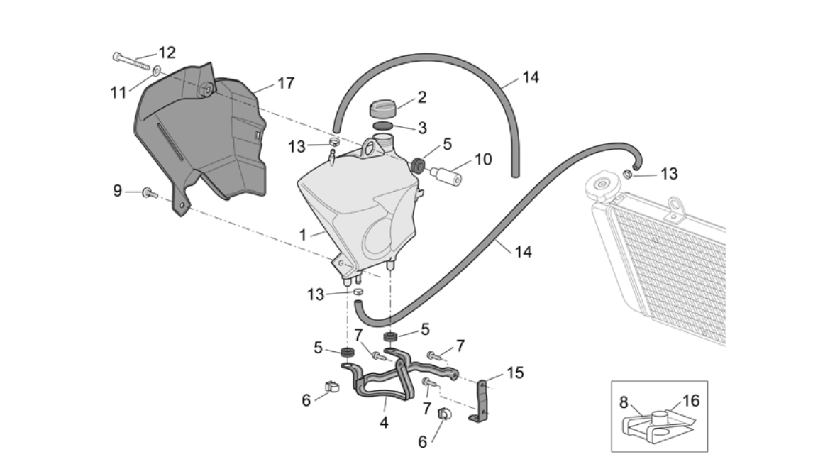 Expansion Tank – clamps