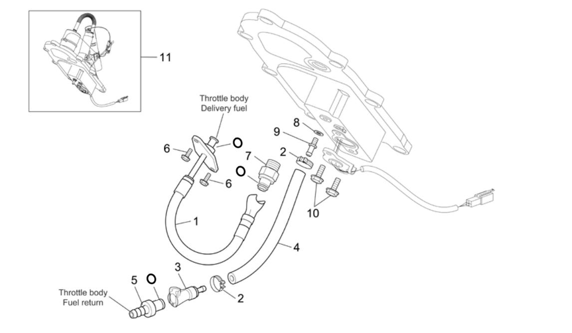 Fuel Pump II – clamps