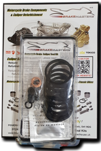 Aprilia Caponord ETV1000 Rally-Raid Brembo P34 (4 pad) seal kit