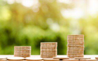 Image of Coins representing salaries