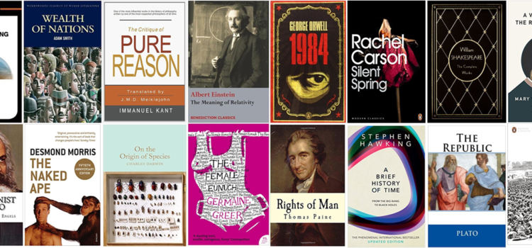 The twenty academic books that changed the world