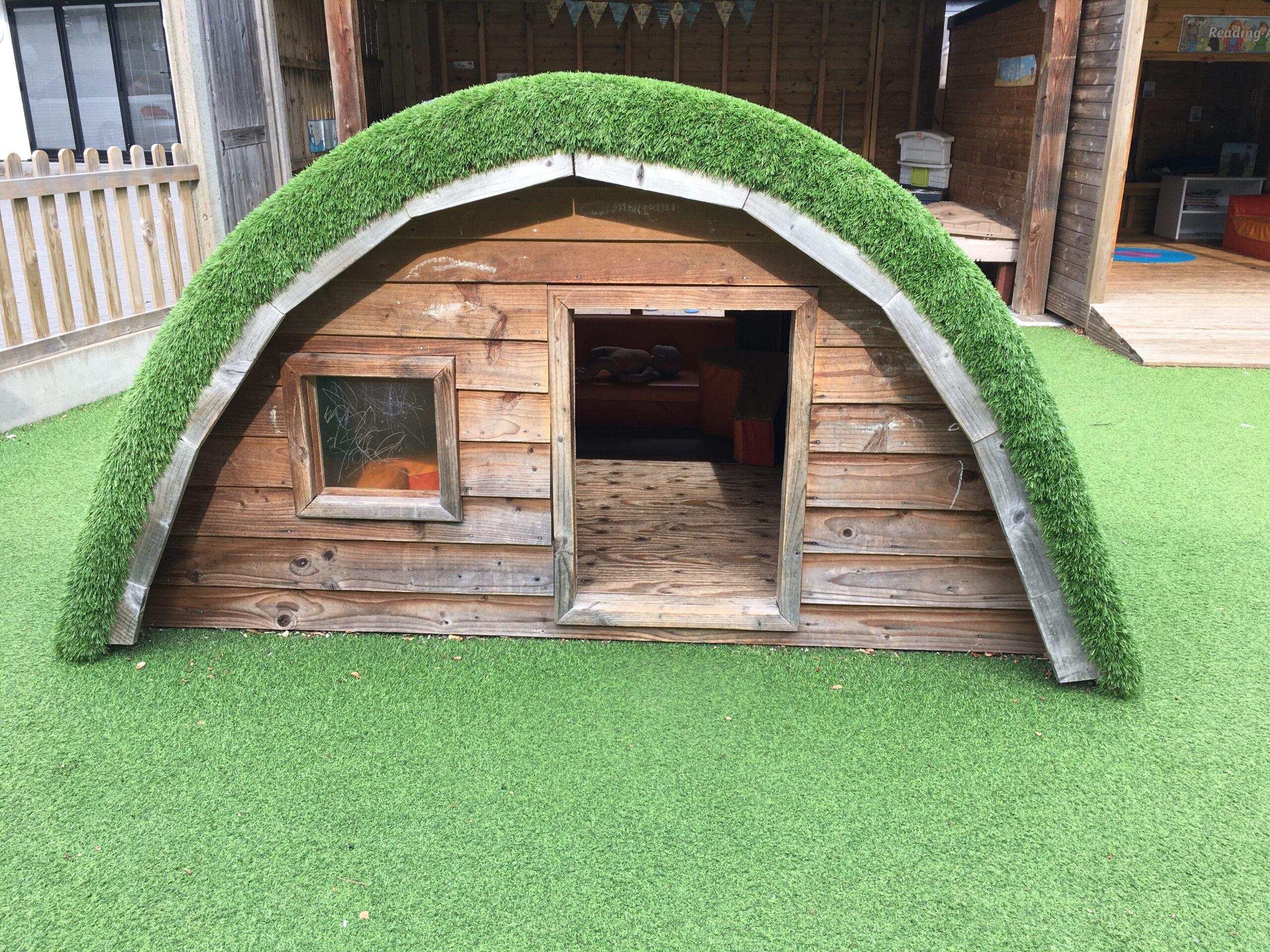 child nursery garden