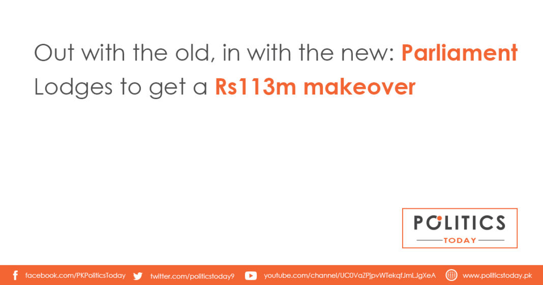 Out with the old, in with the new: Parliament Lodges to get a Rs113m makeover