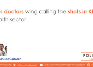 PTI's doctors wing calling the shots in KP health sector