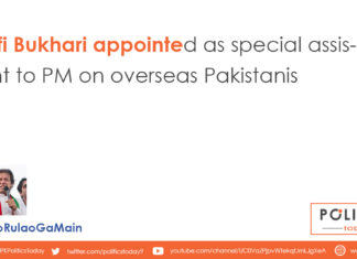 Zulfi Bukhari appointed as special assistant to PM on overseas Pakistanis
