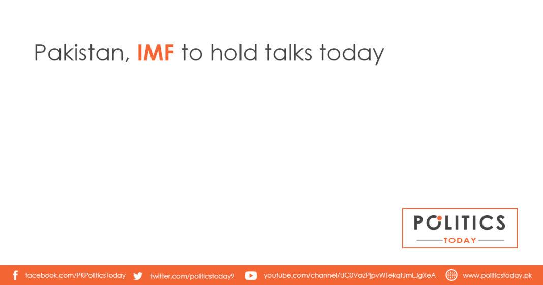 Pakistan, IMF to hold talks today