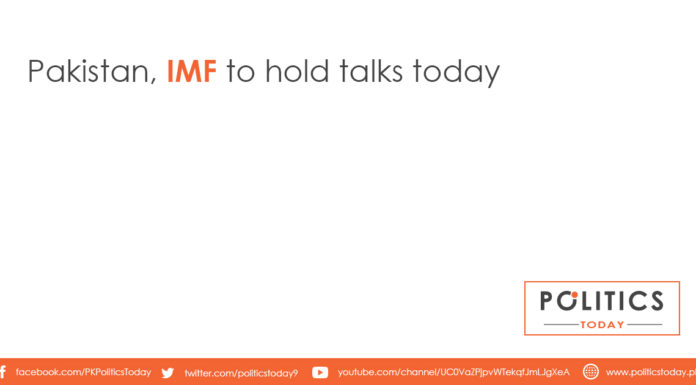 Pakistan, IMF to hold talks today
