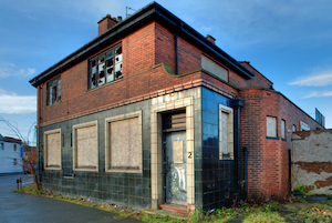 Derelict pub. Unused licence. A premises licence is just a piece of paper.