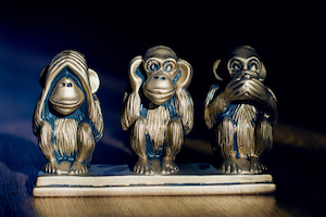 3 monkeys see nothing wrong with the Licensing Act