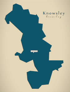 Map of Knowsley's Intended Use Policy