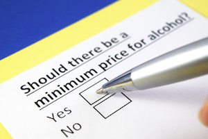 minimum unit pricing in Wales may have unintended consequences