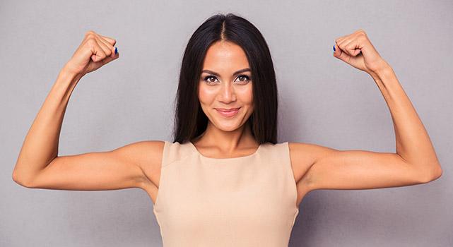 reduce arm fat