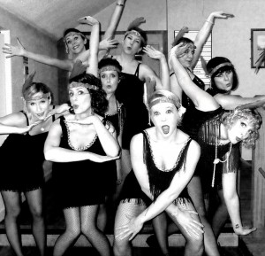 Charleston Flappers at The Showgirl Academy