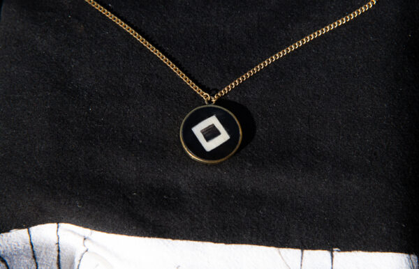 Square pendant