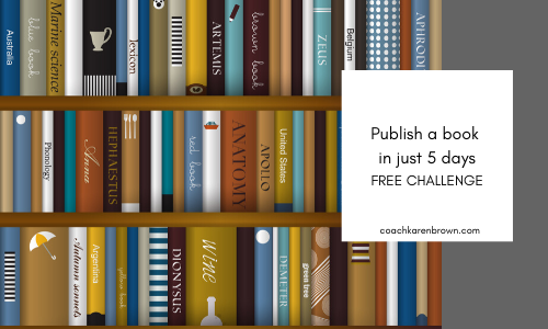 Publish a book in 5 days challenge