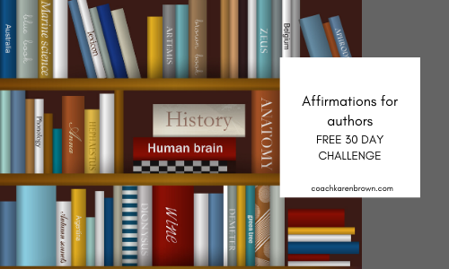 Affirmations for authors free challenge