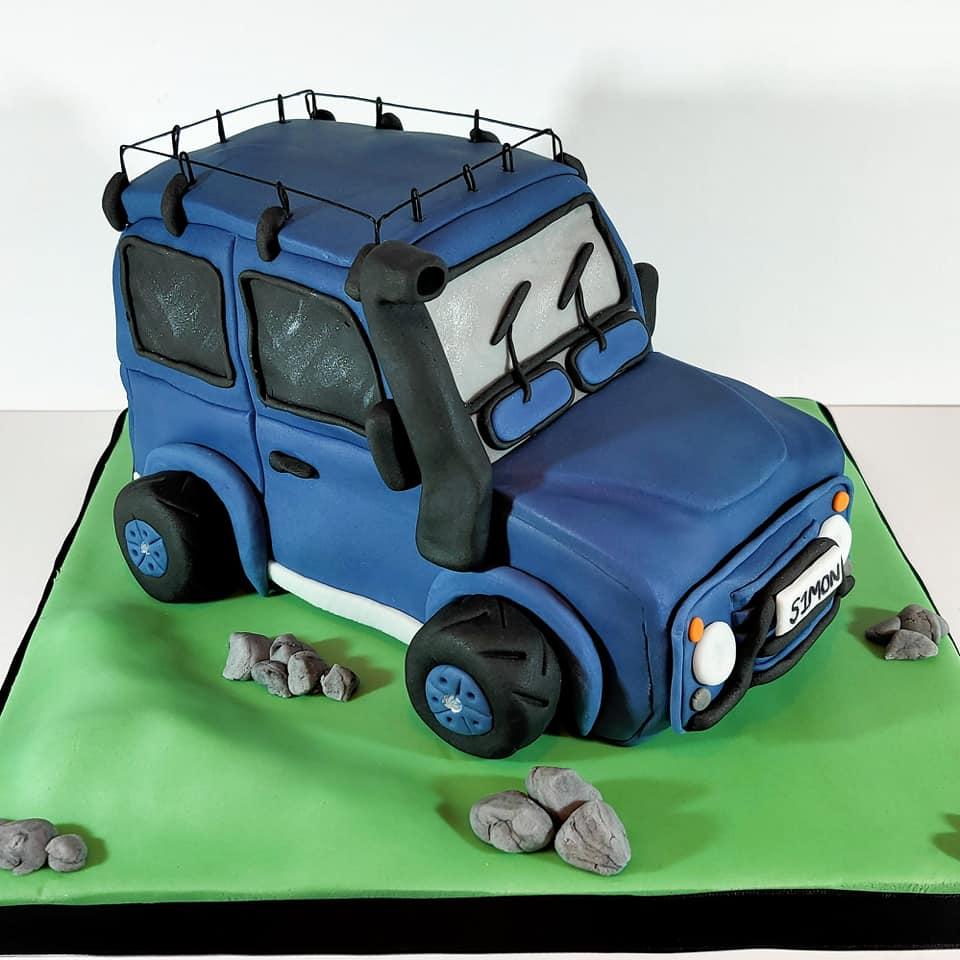 3D Land Rover Cake