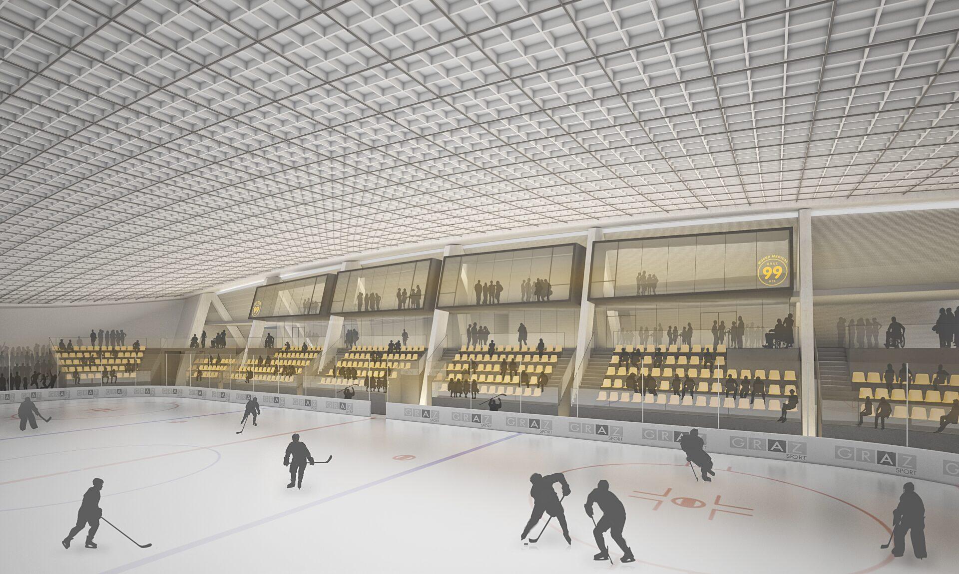 Eishalle Liebenau 2018