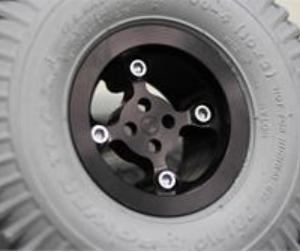Black Anodized Drive Wheels
