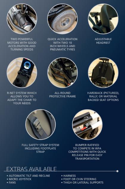 Equaliser Powerchair attributes