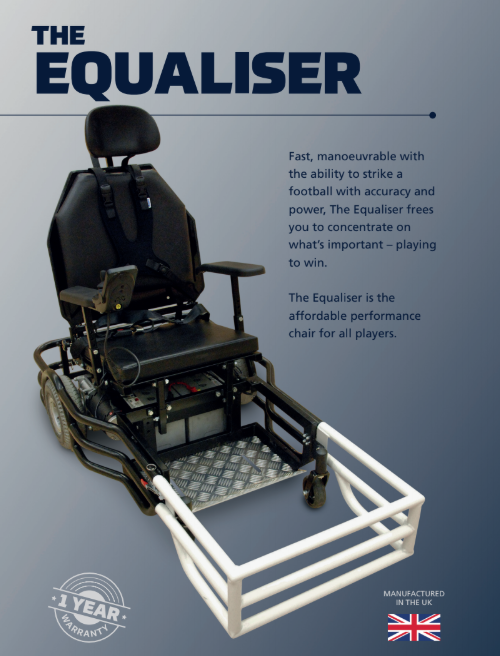 equaliser powerchair