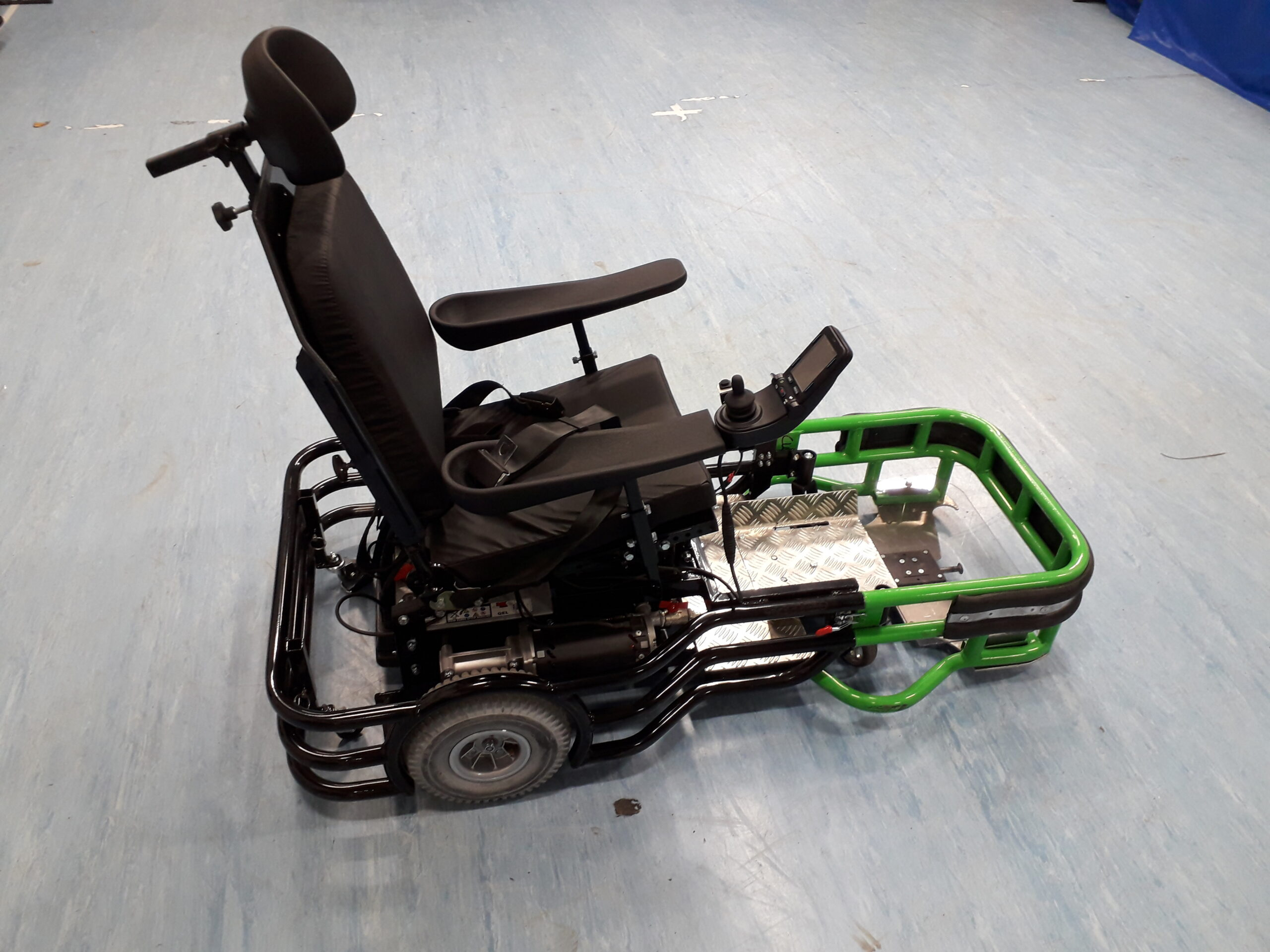 Equaliser Powerchair side