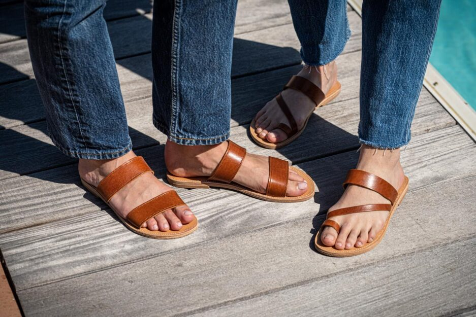 ilios sandales elpida camel