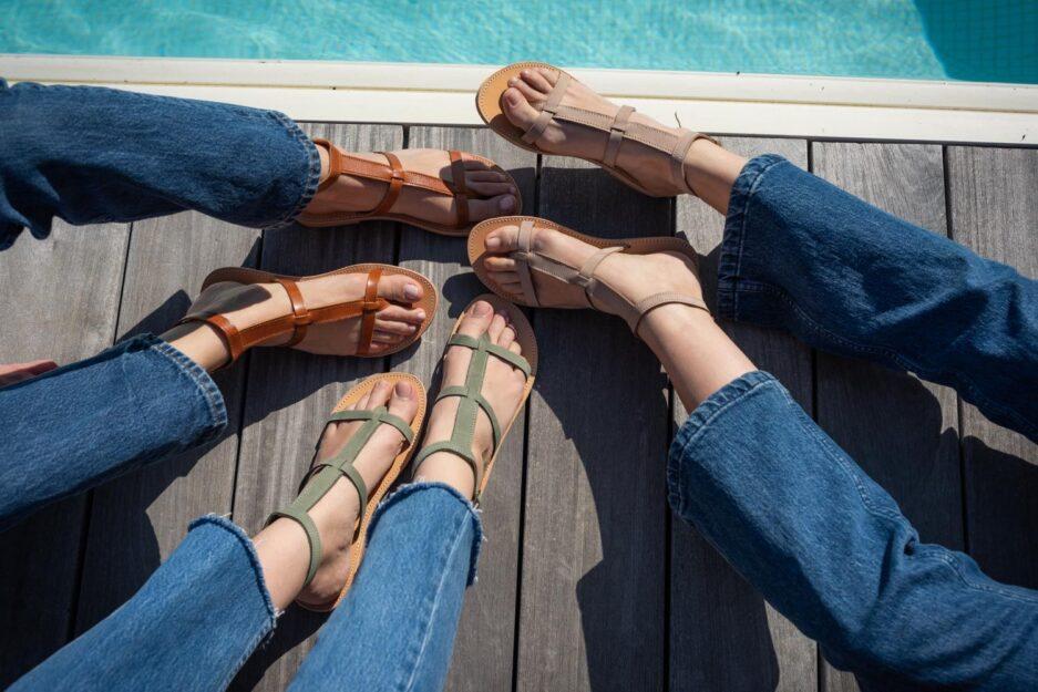ilios sandales philia camel