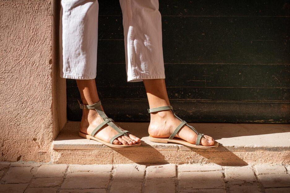 ilios sandales philia vert