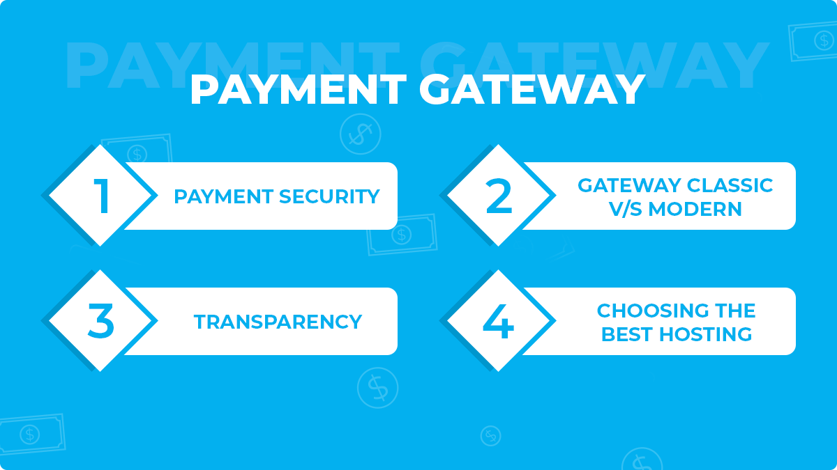 4 Things to Keep in Mind Before Choosing a Payment Gateway